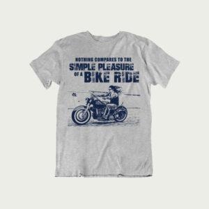 Pleasure of a bike ride – T Shirt