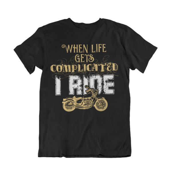 Bike life tshirt biker