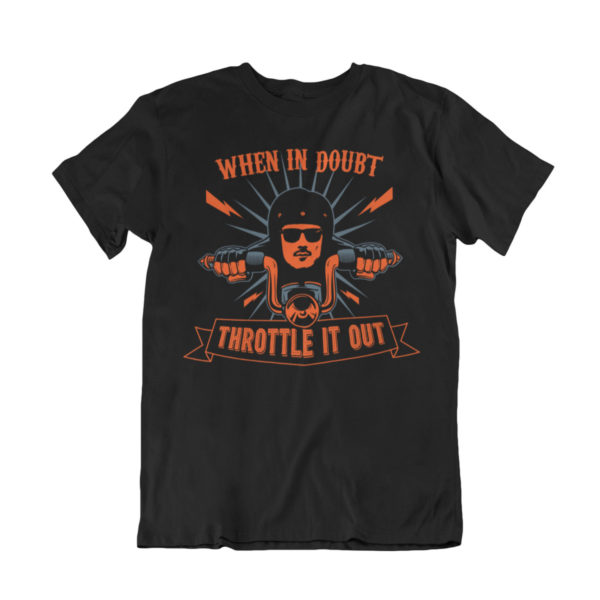 Motorcycle tee shirts for bikers