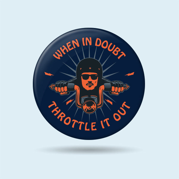 Badges for biker jackets