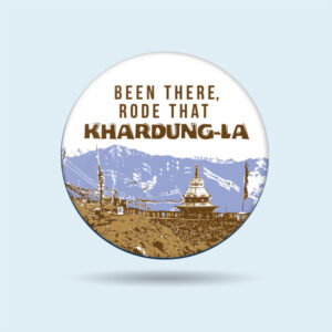 Khardungla Spiti Biker badge for motorcycle riders - The Misfit World