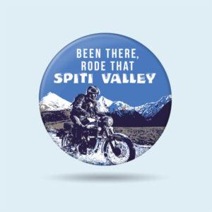 Khardungla spiti Badge for bikers