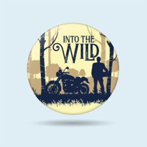 You can pin it jackets, shirts or bags. Get this awesome biker badges to express out your motorcycle riding passion. The Misfit World.