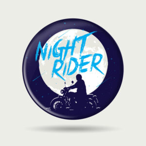 Night rider – Badge