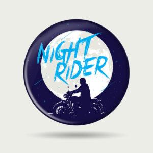 Night rider – Badge