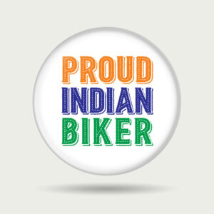 Proud Indian Biker – Badge