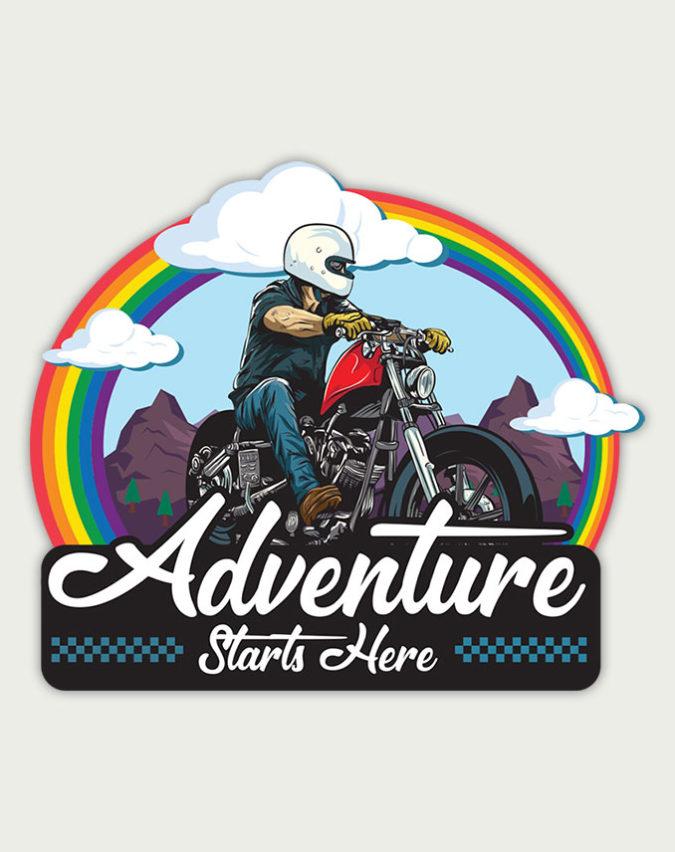 best bike stickers, best stickers for bikes, bike windshield stickers