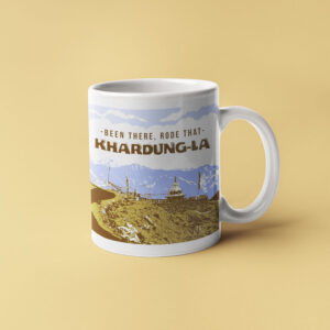 Been there Rode that - Khardunga La coffee mugs