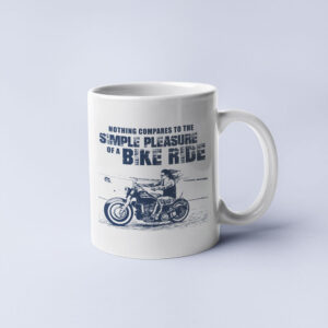 Pleasure of a bike ride – Coffee Mug