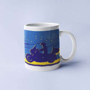 Life on two wheels – Coffee Mug