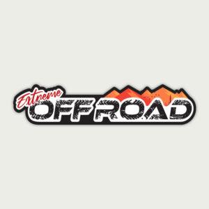 Extreme Off Road Rider – Sticker
