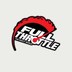 Full throttle – Sticker