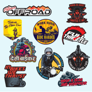stickers for bike helmets, Biker Stickers India online