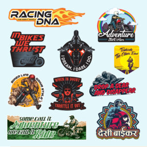 Stickers for bikers India