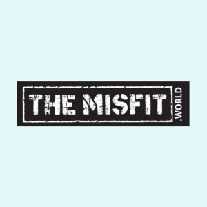 The misfit world Stickers, biker keychain