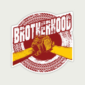 Brotherhood Biker – Sticker