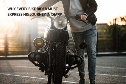 Why Every Bike rider must express his Journey in Diary