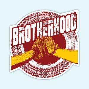 Brotherhood Biker - Sticker