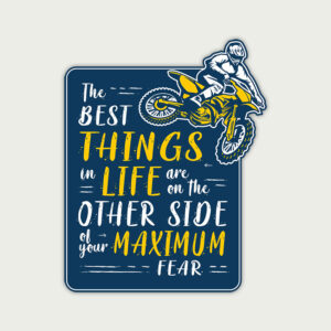 The best things in life – Sticker