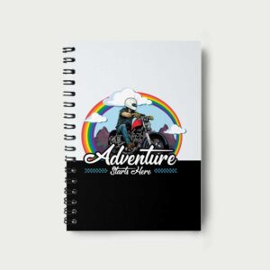 Adventure starts here – Notebook