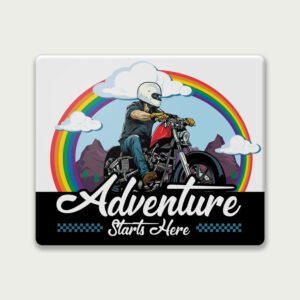 Adventure starts here – Mouse Pad