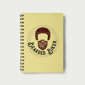 Bearded Biker – Notebook
