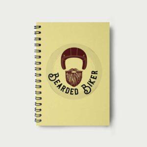 Bearded Biker – Notebook