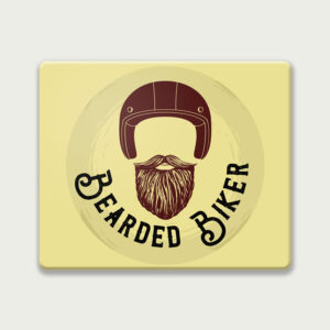 Bearded Biker – Mouse Pad