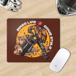 Mousepad for biker