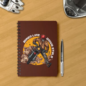Notebook for bikers