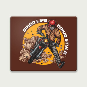 Biker Life Drive Style – Mouse Pad