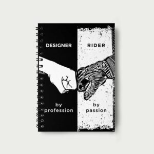 Designer by profession – Notebook