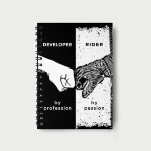 Developer by profession – Notebook