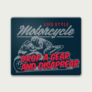 Drop a Gear and Disappear – Mouse Pad
