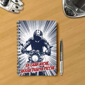 Motorcycle notebook