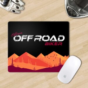 Retro Biker Mouse Pad