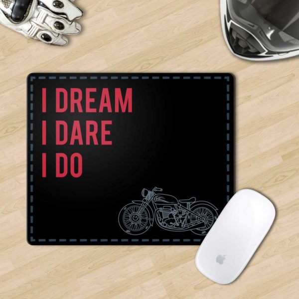 Mousepad motorcycle