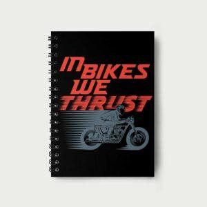 In bikes we thrust – Notebook