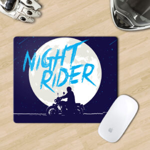 Mousepads for motorcycle riders