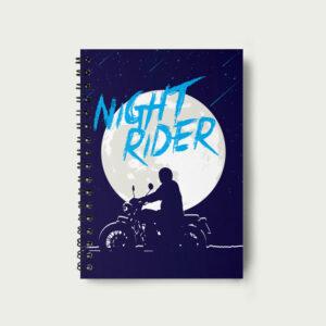 Night rider – Notebook