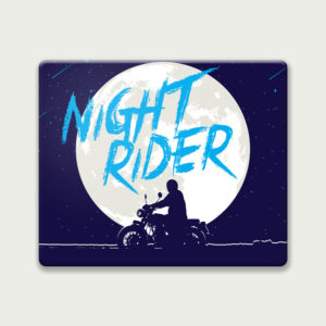 Night rider – Mouse Pad