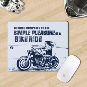Mousepad for motorcycle riders