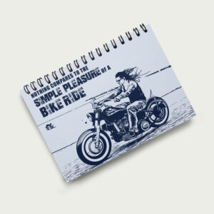 Pleasure of a bike ride – Notebook
