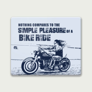Pleasure of a bike ride – Mouse Pad