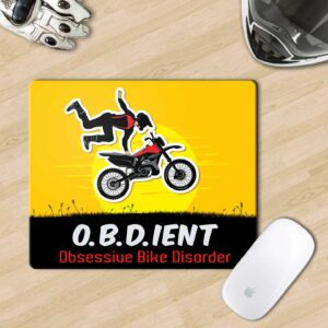 Mousepad for biker