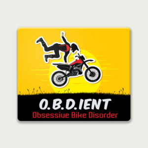 Obsessive Bike Disorder – Mouse Pad