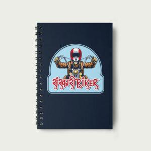 Sanskari biker – Notebook