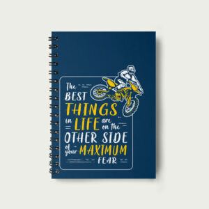 The best things in life – Notebook