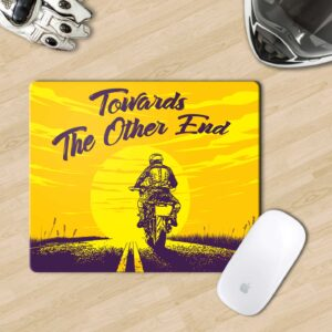 Retro Biker Mouse Pad