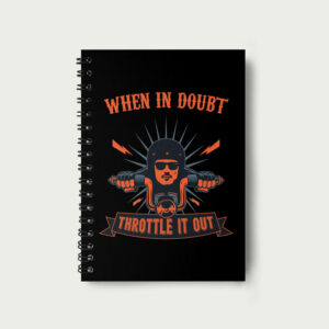 When in doubt – Notebook